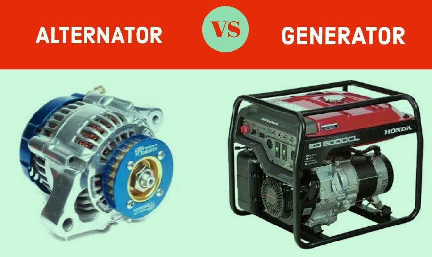 Which is a better alternator or generator?
